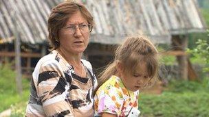 Marina Lyamkina and daughter