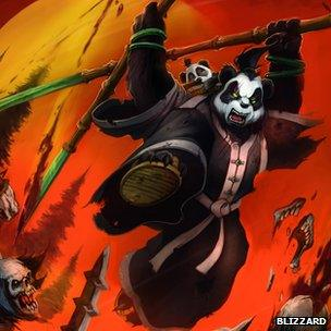 Artwork from Mists of Pandaria