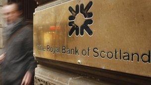 Royal Bank of Scotland branch in Glasgow