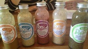 Righteous salad dressings