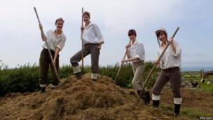 Manx Land Girls Army