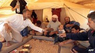 Syrian refugees in Jordan, 19 August