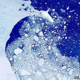 Ronne ice shelf