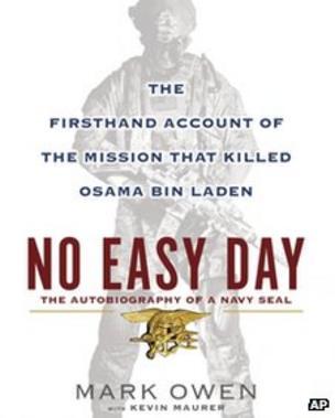 Pentagon may sue author of Bin Laden book No Easy Day - BBC News