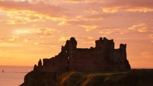Tan tallon castle, shot at sunrise by Craig Coventry