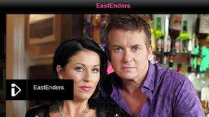 iPlayer showing EastEnders