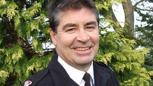 Chief Constable Jon Stoddart