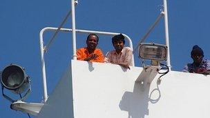 Crew of the Abu Dhabi Star