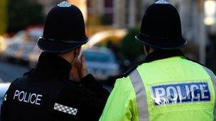 Police officers, Bristol