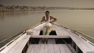 Ferryman on the Ganges