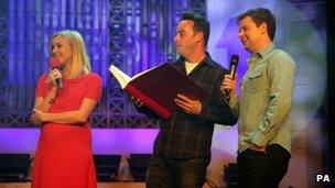 Fearne Cotton, Ant and Dec