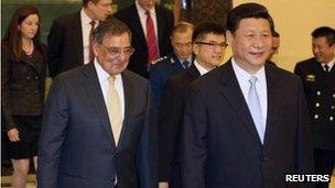 China's Xi Jinping healthy, says Panetta in Beijing - BBC News