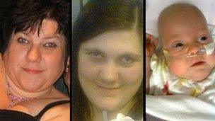 Kim Buckley, Kayleigh Buckley a Kimberley Buckley