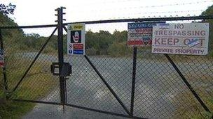 New England Quarry entrance