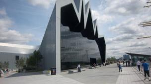 Ken Robb from Ontario said he had a great day at the Transport Museum in Glasgow during his holiday.