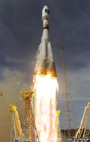 Soyuz lift-off