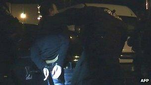 Suspect arrested in crackdown, 16 Oct 12