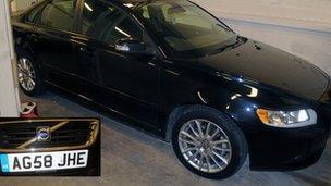 Car Clive Sharpe