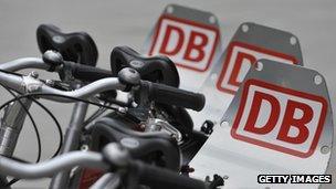 Deutsche Bahn cycles for hire
