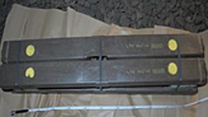 Stolen munitions