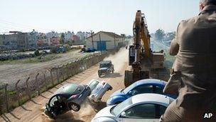 Skyfall: Stunt driver Mark Higgins' James Bond licence to thrill