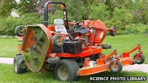 ride-on park lawnmower