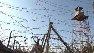British prison camp in Nicosia