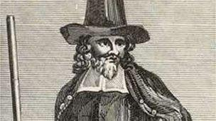 The popular image of a witchfinder is a Puritan man