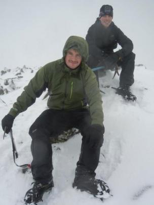 Stuart and Matthew on Stob Coire Sgreamhach and Bidean nam Bian