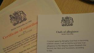 Why become a British citizen? - BBC News