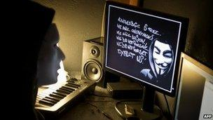Anonymous hackers 'cost PayPal £3 5m' - BBC News
