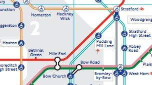 London Light Rail Map.Wrong Abbey Road Beatles Fans Confused By Tube Map Bbc News