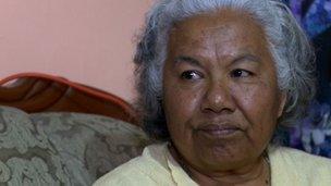 Irinea Buendia, mother of suspected murder victim