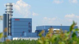 Gas-fired Power Plant Gönyü
