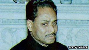 Bangladeshi leader Hussain Muhammad Ershad