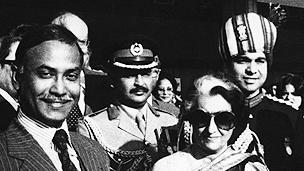 Bangladeshi leader Ziaur Rahman pictured in 1980