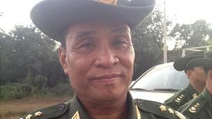 Burmese Border Affairs minister Thein Htay