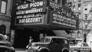 Jewish cinema, Manhattan c.1940s
