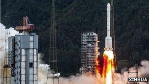 China communications satellite launch