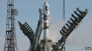 Galileo satellite launch