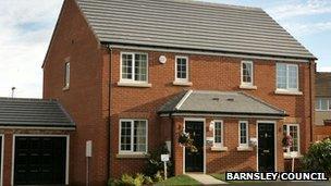New housing in Grimethorpe