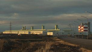 Aluminium smelting plant