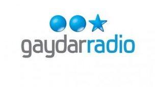 Gaydar Radio logo