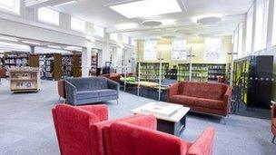 City centre library in York