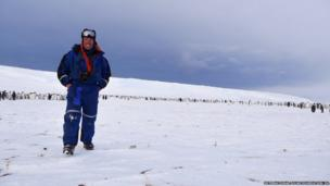 Expedition leader Alain Hubert.
