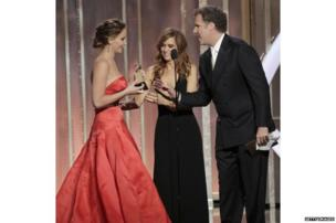 Jennifer Lawrence, Kristen Wiig and Will Ferrell
