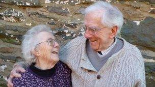 Meredydd Evans a Phyllis Kinney