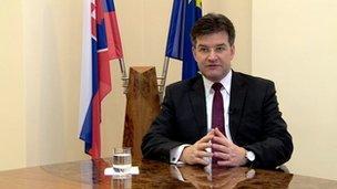 Slovakia's deputy prime minister, Miroslav Lajack said each case is different