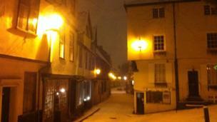 Elm Hill on Sunday night/Monday morning