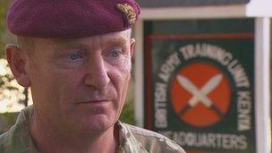 Colonel Mark Christie